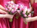 Букеты в розовых тонах