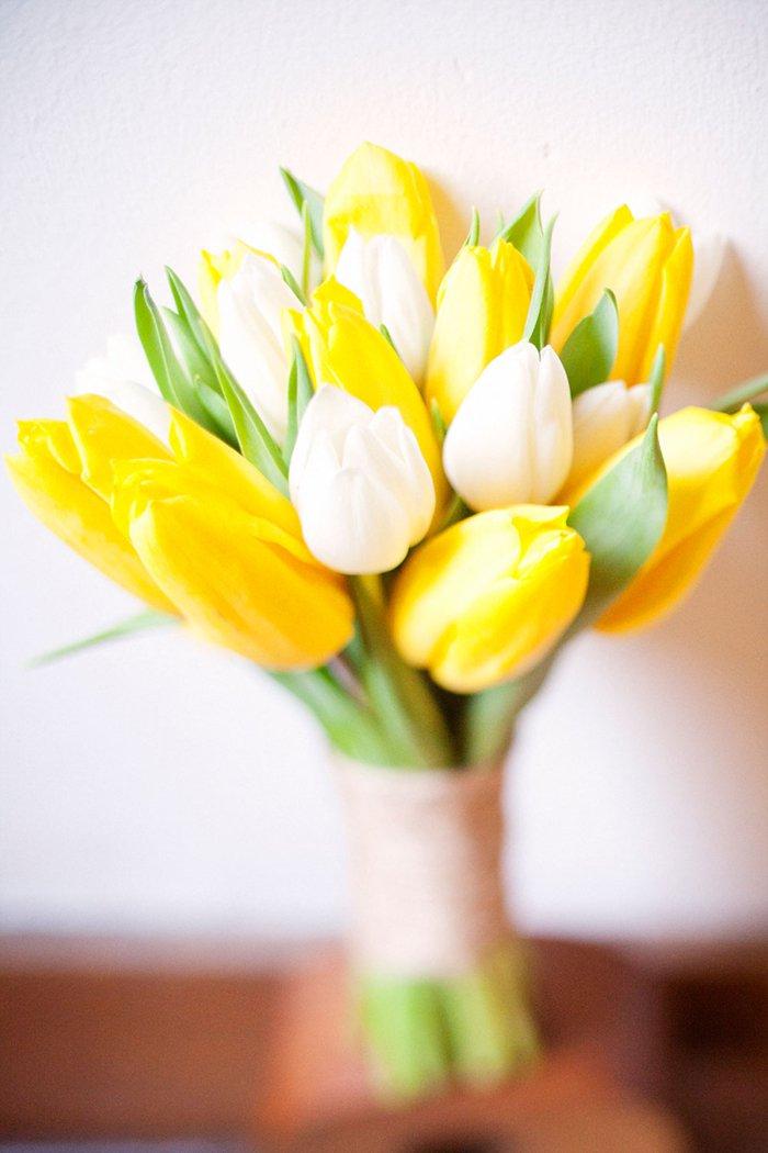 Фото букета тюльпанов