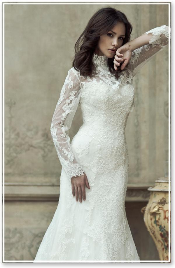 Не удивительно, что свадебные платья с длинным рукавом выбрали в качестве своего подвенечного наряда «королевские» невесты: Кейт Мидлтон, Стефани де Ланнуа