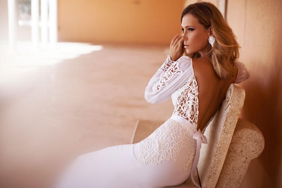 Свадебное платье с длинным рукавом: особенности фасонов, правила