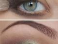 Зелено голубые глаза