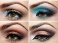 Оттенки для зеленых глаз