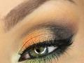 Радужный макияж