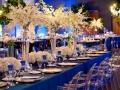 """Бело синий """"Морской"""" стиль свадьбы"""