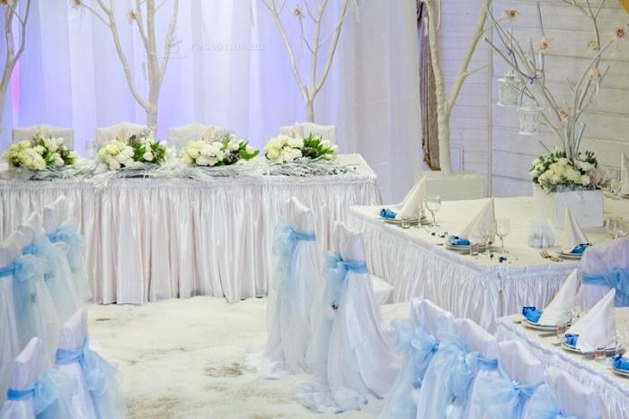 Оформление зала на свадьбе своими руками