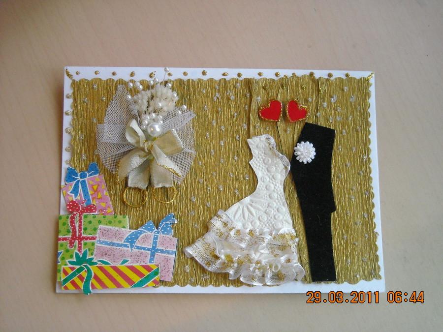 Делаем открытки с днем свадьбы своими руками 71