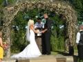 Выездное венчание под главной аркой