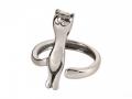 Если подарили кольцо в форме кота, то это хорошо