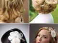 В свадебной прическе широко используются украшения для волос