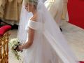 У княгини Монако венчальное платье выглядело так