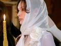 Невеста в церкви обязана быть с прикрытой головой