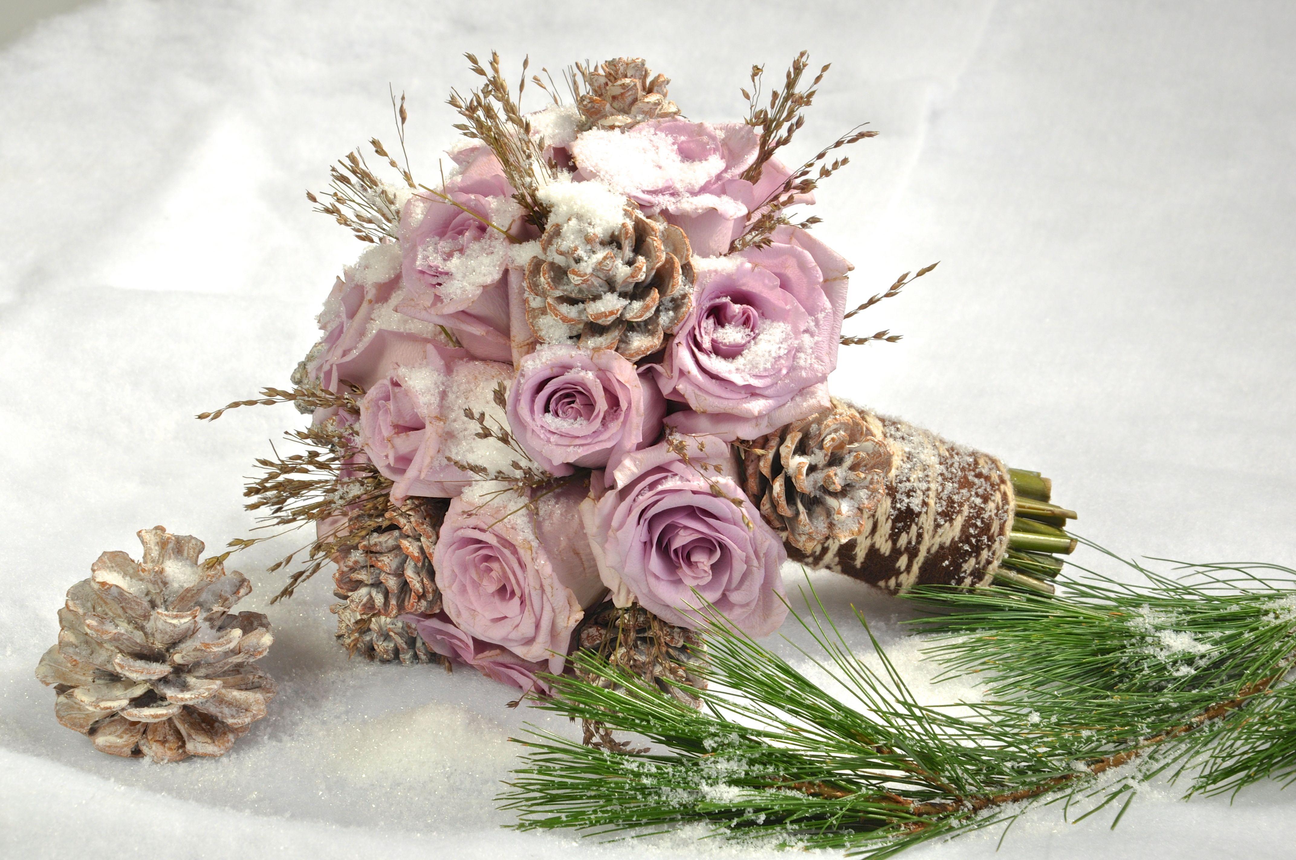 Подборка потрясающих образов зимней невесты... Зима-отличное время для свадьбы!