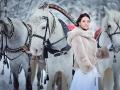 Зима - невероятное время для зрелищных фотографий свадьбы