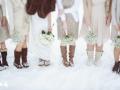 Попробуй отгадать где ножки любимой в снегу