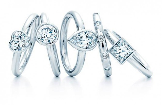 кольца Tiffany & Co