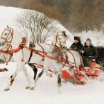 Оригинальный сценарий выкупа невесты зимой