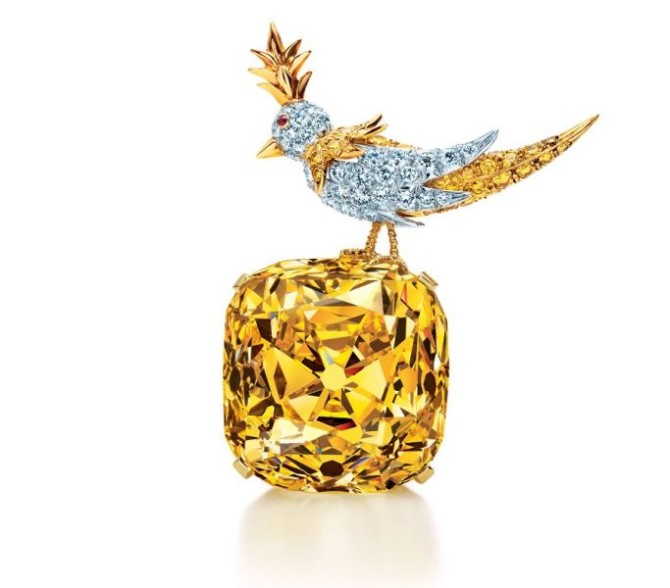 Tiffany Diamond - эталон огранки брильянтов