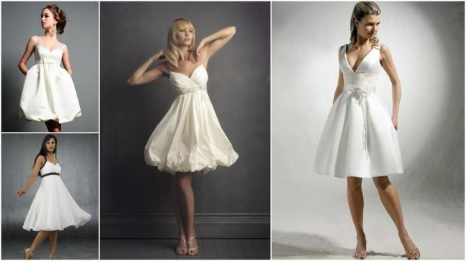 У коротких платьев стиля ампир также есть из чего выбрать