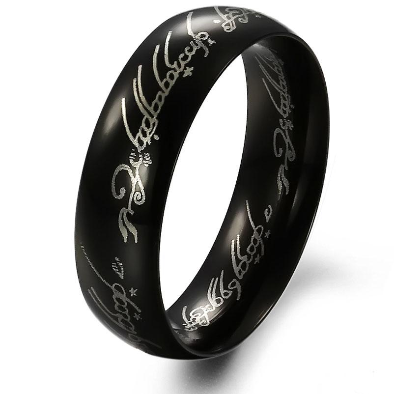 Черное кольцо может предзнаменовать примирение с людьми с которыми Вы в ссоре