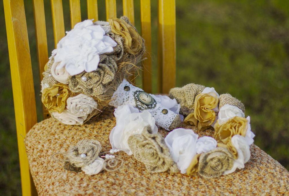 Стилизированный букет невесты