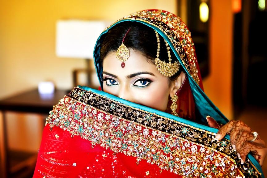 В Индии помимо обручальных колец много других атрибутов бракосочетания