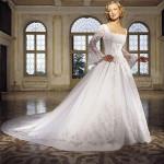 Преимущества свадебного платья с длинным рукавом