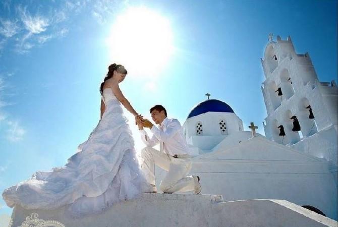 Свадебное платье для венчания в церкви