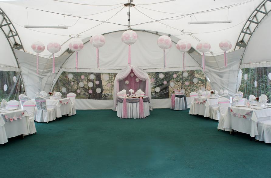 К оформлению места проведения свадьбы обязательно подходите творчески