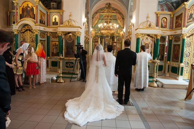 Венчание не дань моде, а духовный шаг
