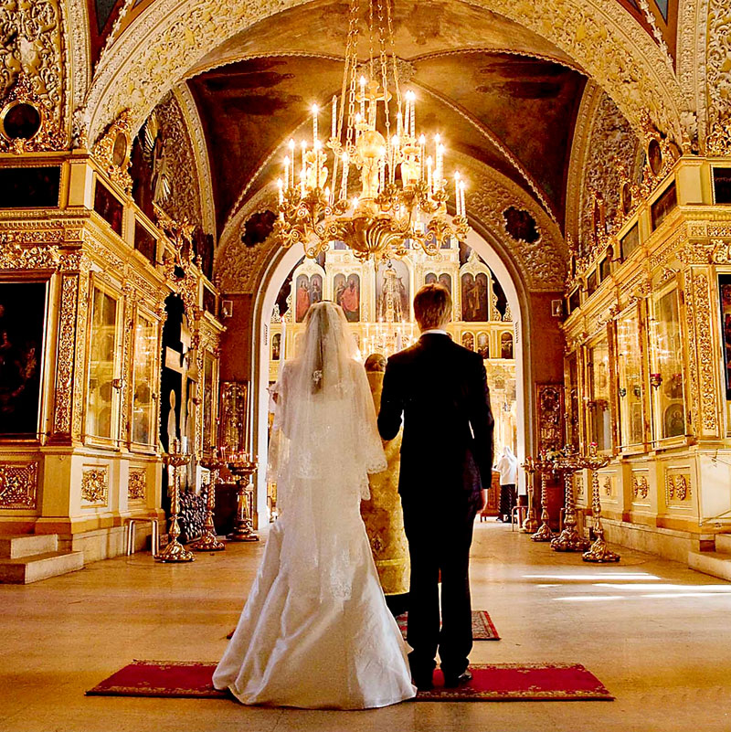 Как поздравить с венчанием в стихах и прозе
