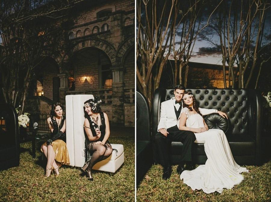 """Для свадьбы в стиле """"Гетсби"""" для подружек можно подобрать оригинальный набор одежды"""
