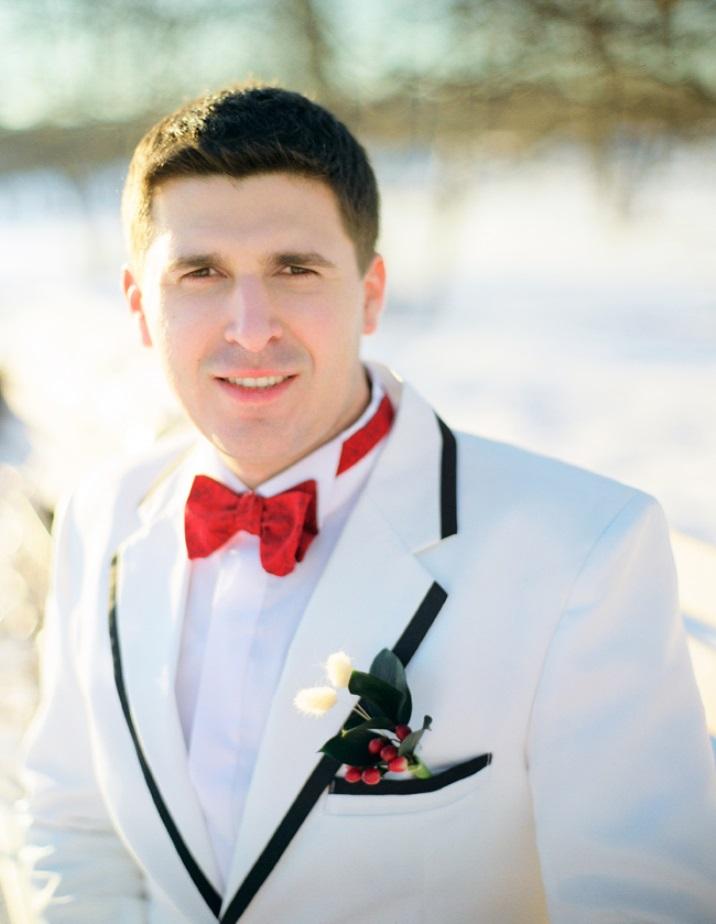 Свадебный галстук бабочка элегантен и всегда актуален