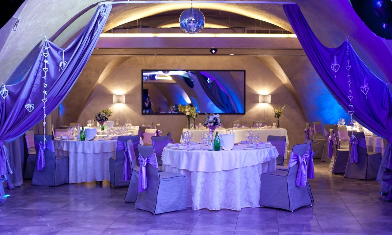 Красивое оформление свадебного зала своими руками