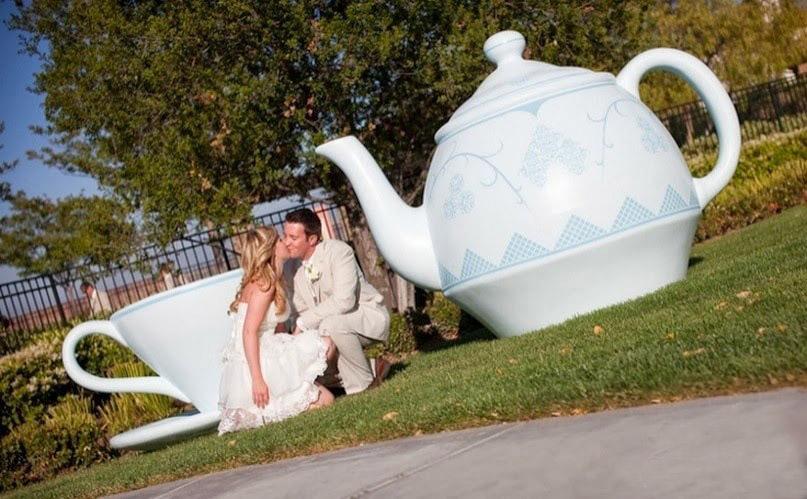 Сказочная свадьба в стиле Алиса в стране чудес
