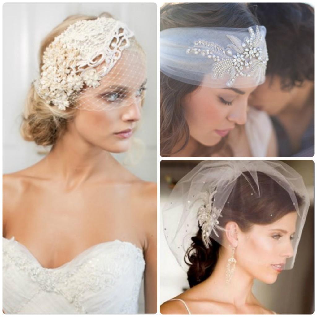 Аккуратная элегантная мантилья - идеальное решение для покрытия головы невесты в церкви