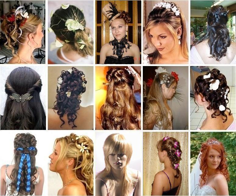 Обязательно попробуйте разные варианты прически, как она гармонирует с фатой, фасоном платья и т.д.