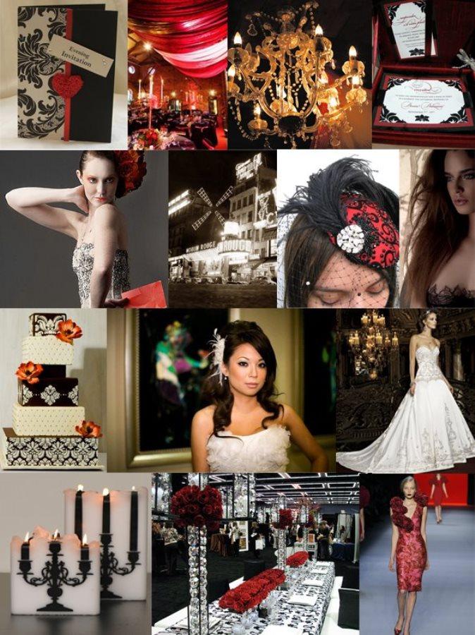 ...кроется в деталях, и к свадьбе в стиле Мулен Руж это имеет самое прямое отношение