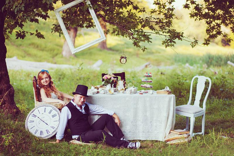 Шляпник и Алиса главные герои свадьбы