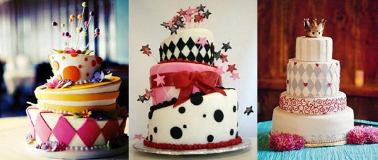 Варианты торта для Алис с разными вкусами