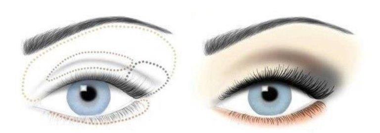 Визуально увеличить размер глаз несложно