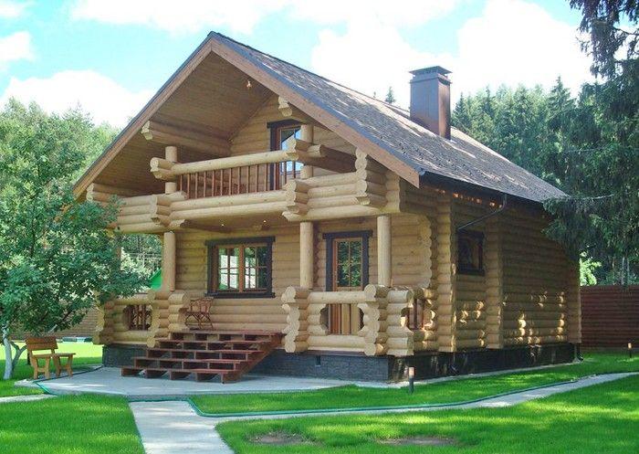 Гостям лучше не жадничать и подарить молодой семье небольшой,аккуратный и уютный деревянный дом!